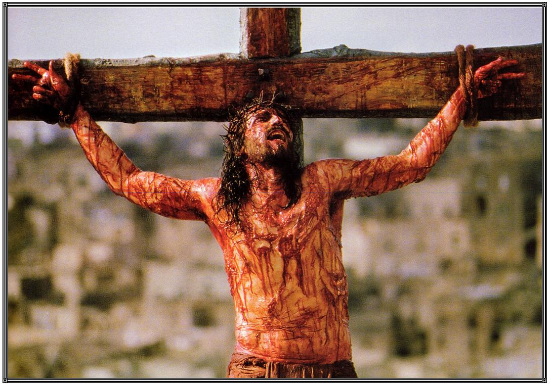 passion of the christ jesus crucified on the cross daniel o