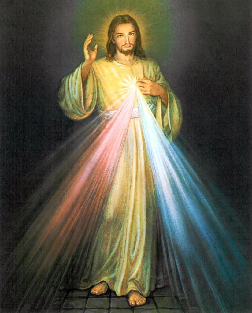High Resolution Divine Mercy Image