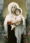 William Adolphe Bouguereau: Mary Holding Jesus