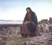 Jesus Fasting