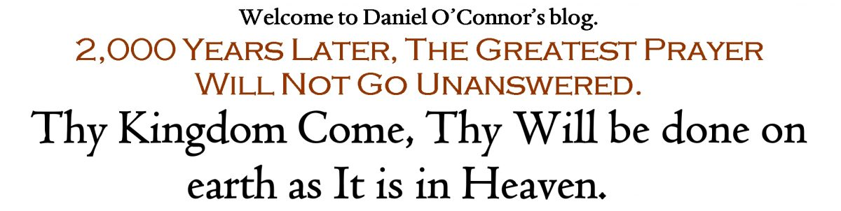 Daniel O'Connor's Blog